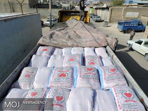 ۱۲ تریلر قاچاق برنج توقیف شدند