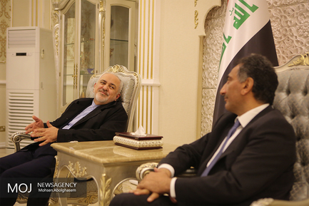 ورود وزیر امور خارجه کشورمان به بغداد