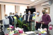 ایثارگران شاغل در سازمان سیما، منظر و فضای سبز شهرداری یزد تقدیر شدند