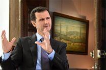 بشار اسد: وظیفه داریم از سوریه مقابل تروریست ها دفاع کنیم