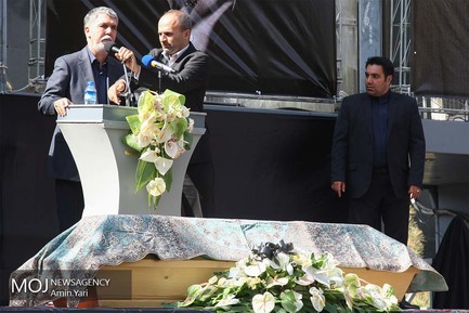 مراسم تشیع پیکر عزت الله انتظامی