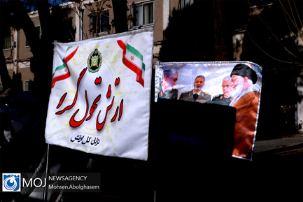 رژه موتور سواران نیروهای مسلح در یوم الله ۱۲ بهمن