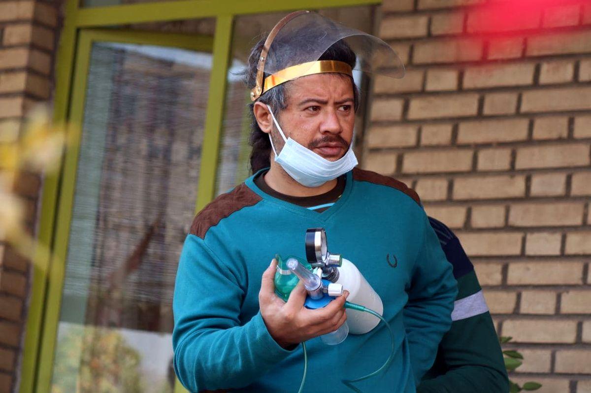 شقایق دهقان و علی صادقی در فصل سوم سریال نون. خ جلوی دوربین رفتند