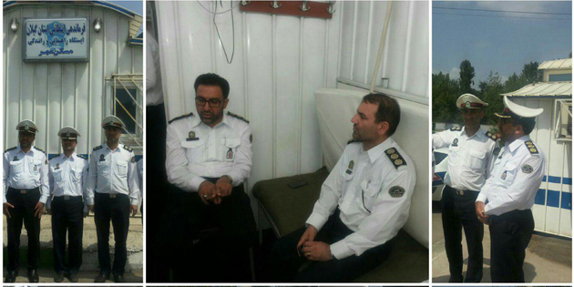 تلاش برای تجهیز ایستگاههای پلیس راهور، گامی در جهت تکریم شهروندان است
