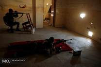 تک تیراندازهای ارتش عراق در موصل