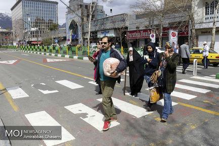 روز طبیعت در پارک ملت تهران