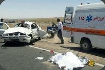 دو کشته و 12 مصدوم در اثر واژگونی یک خودرو سمند در ارستان