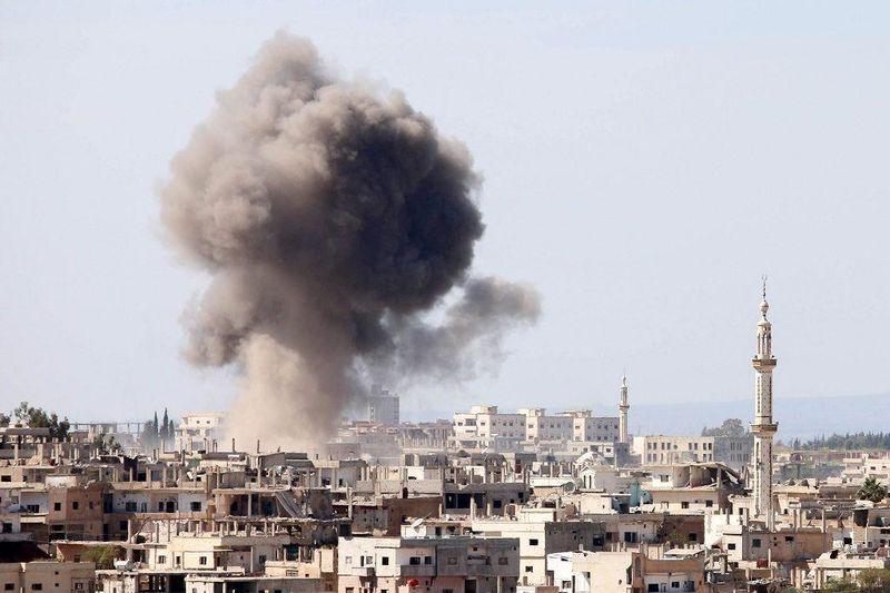 حمله انتحاری به یکی از مراکز تروریست ها در ادلب