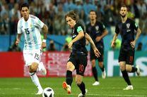 نتیجه بازی آرژانتین و کرواسی در جام جهانی/ آرژانتین در آستانه حذف قرار گرفت