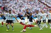 نتیجه بازی فرانسه و آرژانتین در جام جهانی/ حذف آرژانتین از جام جهانی