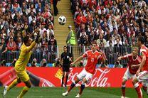روسیه گل سوم خود را به ثمر رساند