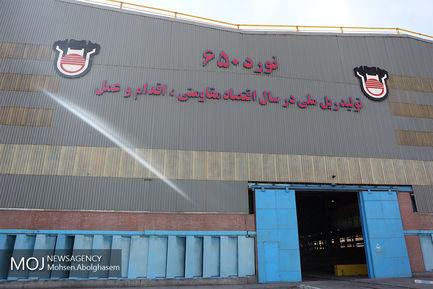 بازدید مدیران خبرگزاری موج از ذوب آهن اصفهان