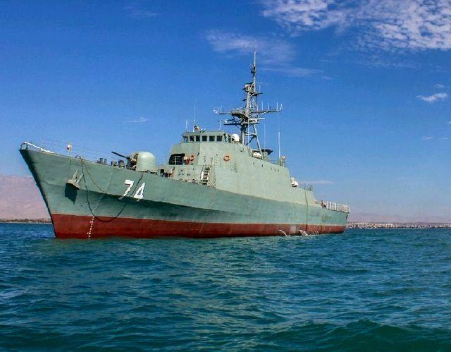 ناوشکن سهند ایرانی چالشی تکنولوژیکی برای نیروی دریایی آمریکا است