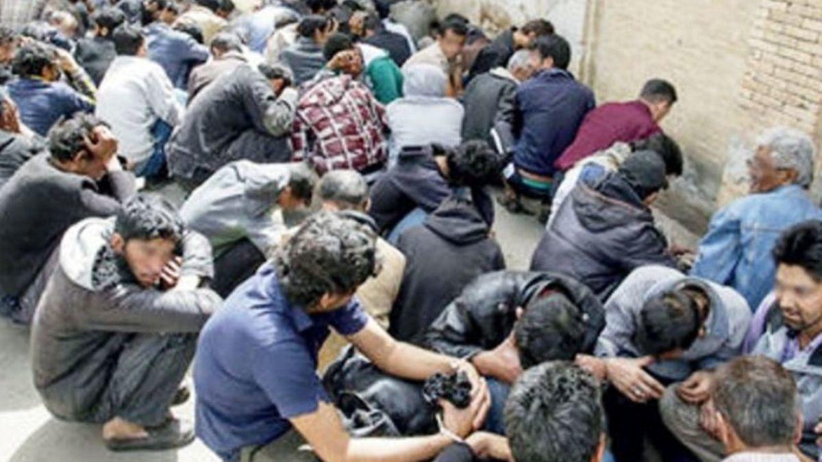 جمع آوری 53 معتاد متجاهر در نجف آباد / دستگیری 3 قاچاقچی مواد مخدر