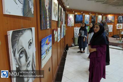 نمایشگاه گروهی نقاشی در آستارا