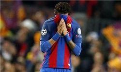 نیمار با بارسلونا به مادرید سفر کرد