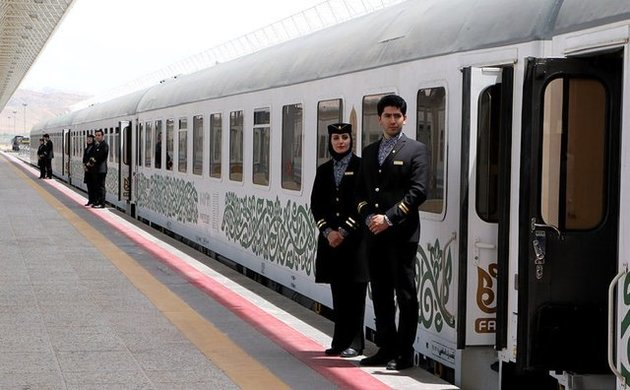 عرضه بلیت قطارهای رجا برای نیمه دوم فروردین ۹۶