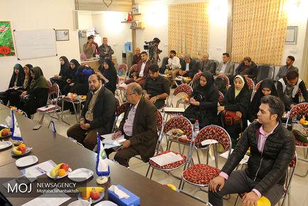 بازدید خبرنگاران از بیمارستان خیریه ساعی در خمینی شهر اصفهان