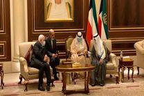 محمدجواد ظریف با امیر جدید کویت دیدار کرد