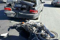 تصادف موتورسیکلت 3 مصدوم برجای گذاشت