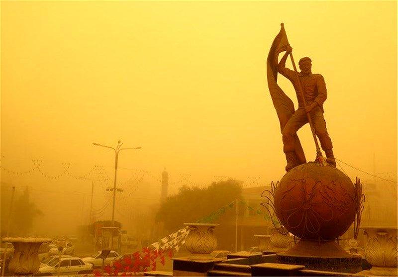 خوزستان غرق در خاک شد