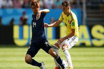 نتیجه بازی کلمبیا و ژاپن در جام جهانی/ برتری ژاپن مقابل کلمبیا