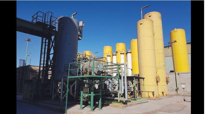 بهینه سازی سیستم کنترل واحدهای تولید هیدروژن فولاد مبارکه