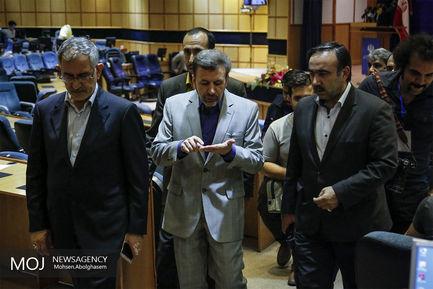 بازدید واعظی وزیر ارتباطات از ستاد انتخابات کشور