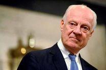 دیمیستورا سند مربوط به قانون اساسی سوریه را به مخالفان داد