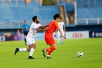 نتیجه بازی فوتبال امید ایران و چین در نیمه نخست