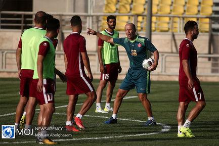تمرین+تیم+فوتبال+پرسپولیس+-+۱۵+تیر+۱۳۹۸