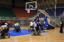 برگزاری نخستین دوره جام حذفی بسکتبال با ویلچر
