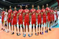 سروقامتان والیبال ایران در رده هفتم رده بندی جهان ایستادند