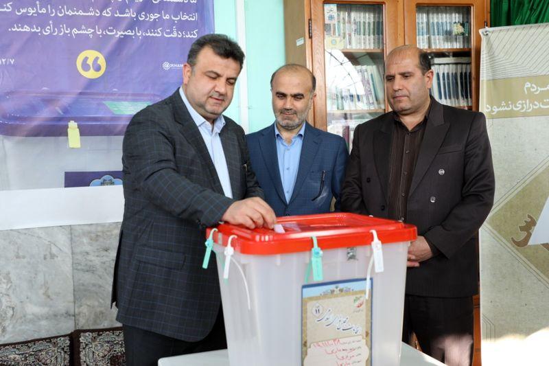 مازندرانی ها حضور پور شور در انتخابات دارند