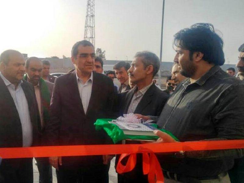 بیمارستان 32 تختخوابی اروندکنار با حضور وزیر بهداشت افتتاح شد