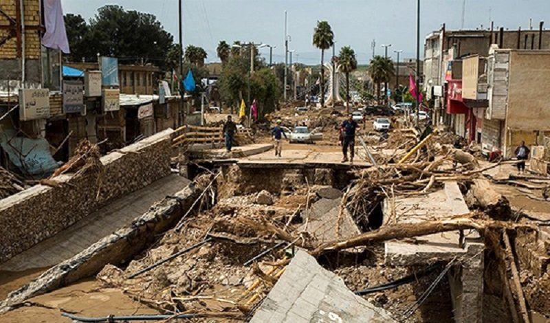 ادامه ماموریت سپاه پاسداران تا بازسازی مناطق آسیب دیده بر اثر سیل