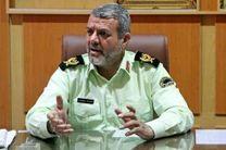 فرمانده انتظامی لرستان از توقیف یکدستگاه کامیون حامل کالاهای قاچاق خبر داد