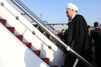رئیس جمهور باکو را به مقصد تهران ترک کرد