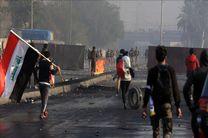 اعتراضات عراق در بغداد 2 کشته و 60 زخمی برجا گذاشت