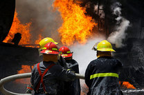 آتش سوزی مرگبار در خیابان سمنگان