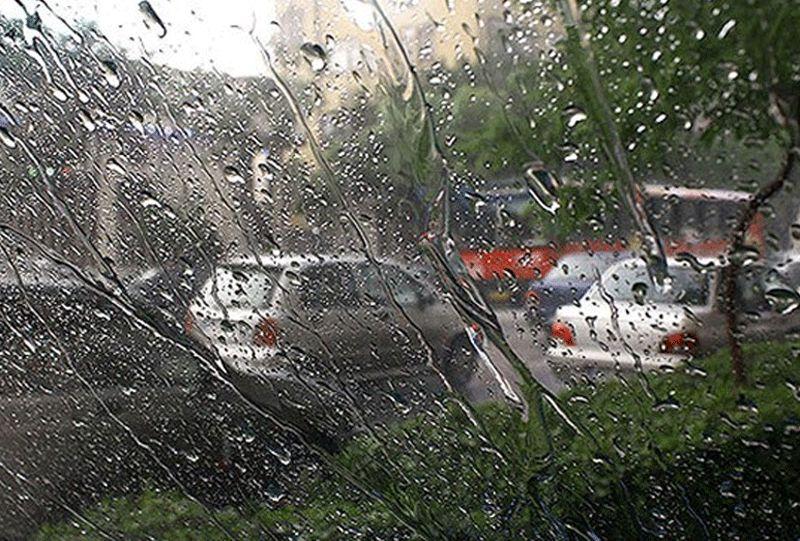 رگبار پراکنده باران در مناطق غربی هرمزگان