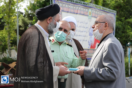 چهارمین مرحله رزمایش همدلی مومنانه نیروی انتظامی تهران بزرگ