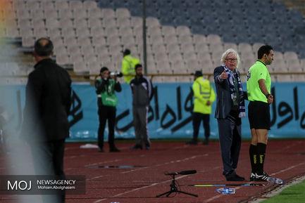 دیدار تیم های فوتبال استقلال تهران و پیکان
