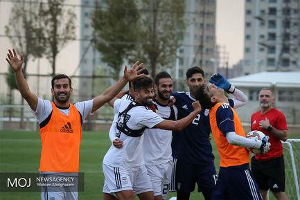 تمرین+تیم+ملی+فوتبال++-+۱۵+مهر+۱۳۹۷
