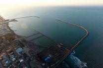 افتتاح رسمی مجتمع بندری کاسپین وآغاز عملیات ساخت اسکله مارینا و بزرگترین آکواریوم ایران