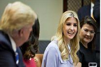 ترامپ در حمله به سوریه تسلیم دخترش شده بود