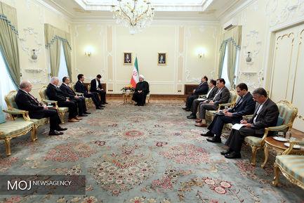 دیدار وزیر اقتصاد ترکیه با رییس جمهوری