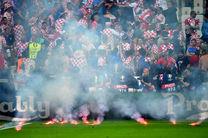 ۹۵ درصد هواداران کرواسی شرمنده تماشاگرنماها شدند