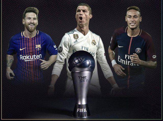 ۳ نامزد نهایی بهترین بازیکن سال فیفا معرفی شدند