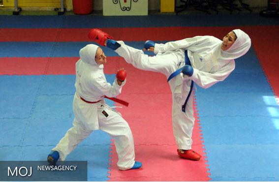 قهرمانی کاراته بانوان فریدونکنار در مازندران با کسب ۱۲ مدال رنگارنگ